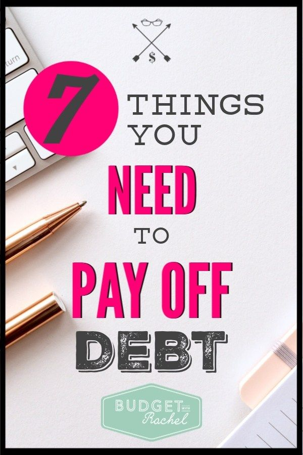 7 Characteristics of People Who Will Definitely Pay Off Debt