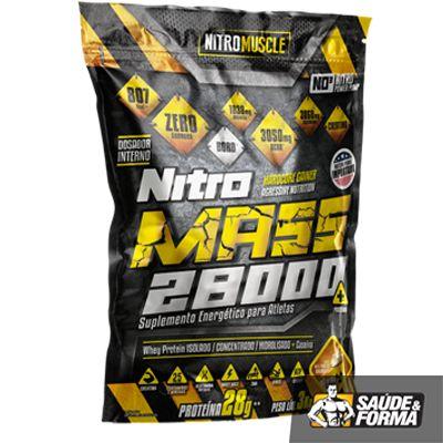 Nitro MASS foi elaborado a partir de pesquisas revolucionárias na área de nutrição, oferecendo todo o aporte necessário para que atletas e desportistas tenham o máximo rendimento.