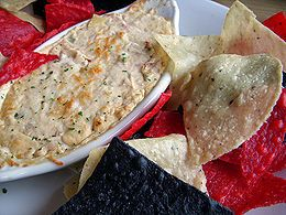 Joe's Crab Shack Crazy-Good Crab Dip can also be used as a pasta topping, as a seafood casserole filler, or as a delicious stuffing for mushrooms. See recipe here: http://www.copycatrecipeguide.com/How_to_Make_Joe%27s_Crab_Shack_Crazy-Good_Crab_Dip