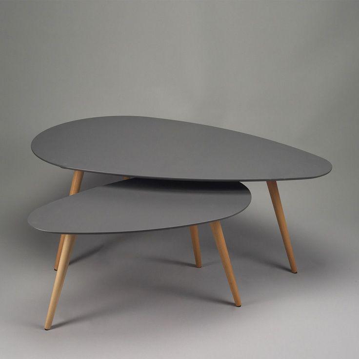 Elégantes, minimaliste et pratiques, les tables basses gigognes de la Sélection Zendart vous permettront de moduler à l'envi votre capacité de réception en fonction du nombre de vos convives, le tout dans une ambiance contemporaine presque scandinave.
