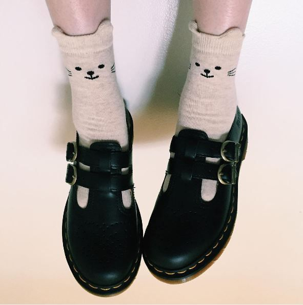 Docs and Socks: The 8065 maryjane shoe, shared by celinawithac.