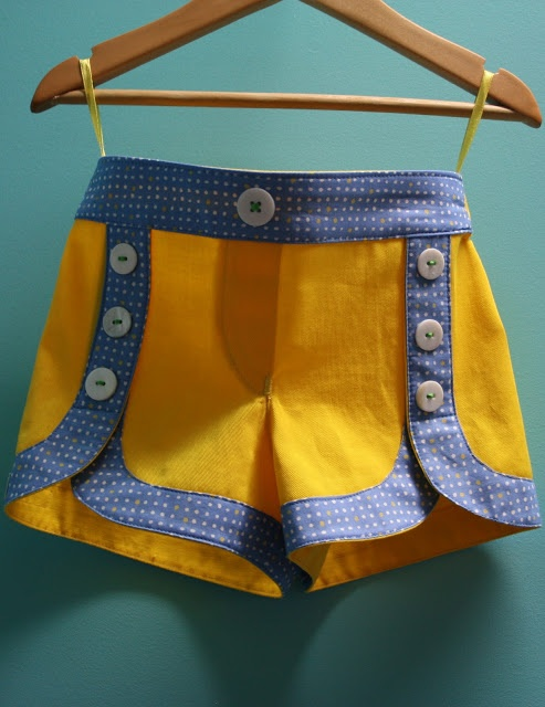 buttons on classic picnic shorts