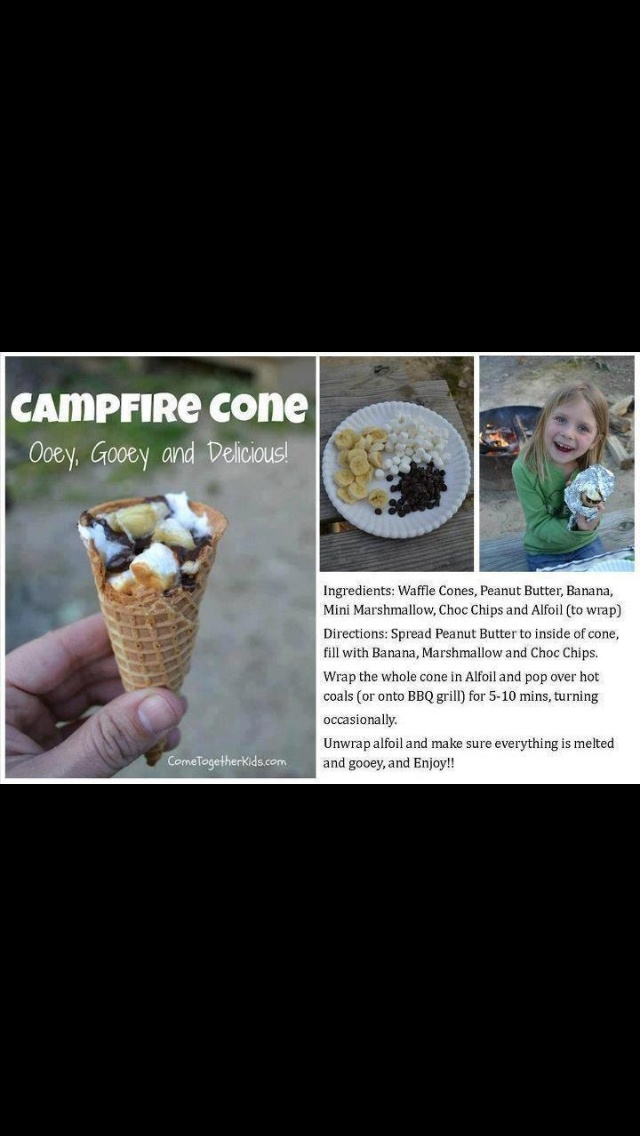 Mmm camping cone