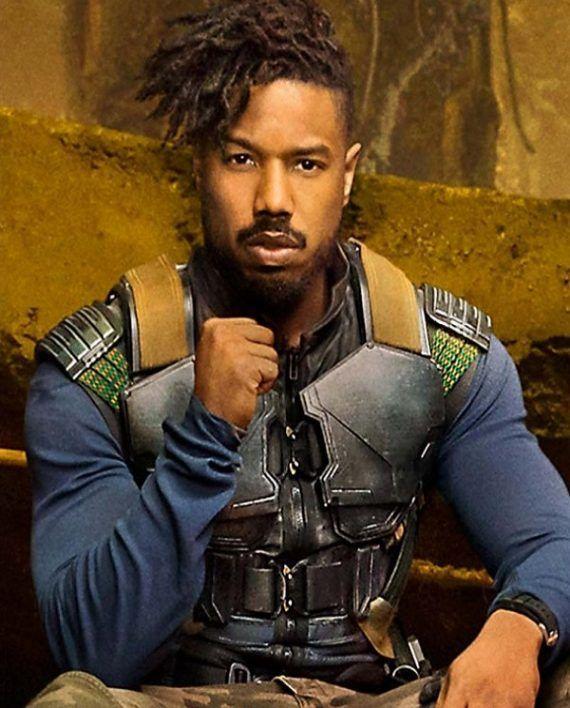 d55e823c674691 Michael B. Jordan Black Panther Leather Vest (6)