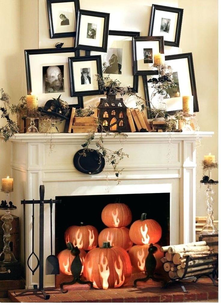 Elegant halloween home decor