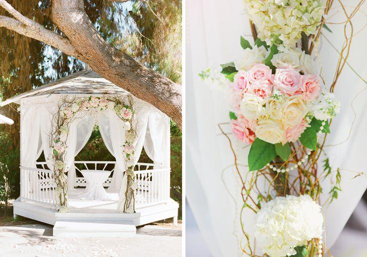 "#MeetTheMikaeles2015 #091815- Wedding Theme: ""Timeless Romance with Modern Vintage Details""- Green Gables Wedding Estate- Ceremony in Garden under Oak Tree"