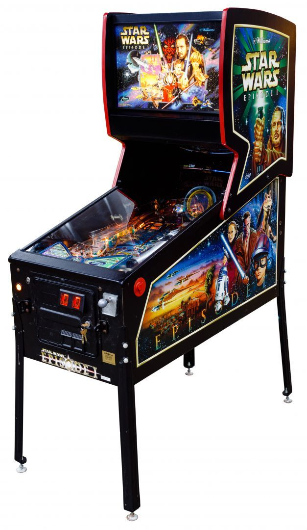 Lot 173: Star Wars Episode 1 Pinball Machine by Williams