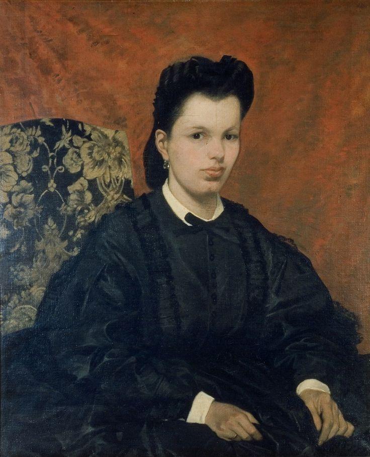 Giovanni Fattori, Ritratto della prima moglie, 1865 c.