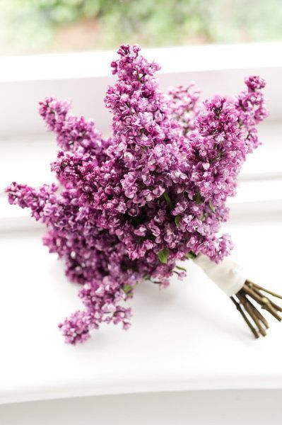All Lilac Wedding Bouquet. Wow gorgeous. And it must smell divine