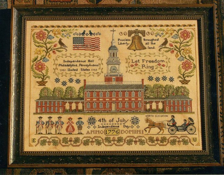 Let Freedom Ring by Lila's Studio Counted Cross Stitch