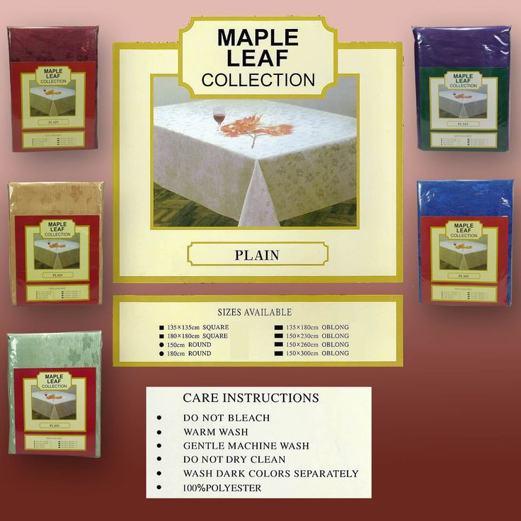 Shipment due today Maple Leaf Table ... what about the quality and price. What a saving  http://www.curtainsrus.com.au/products/maple-leaf-table-cloths-180cm-round-discounted-runout-stock