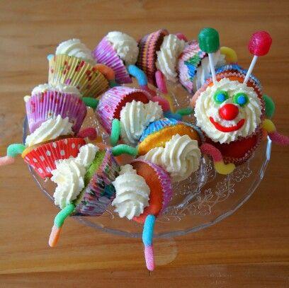 Rups cupcakes