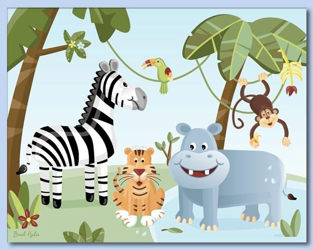 Jungle Massage Activity - a Multi sensory activity which can be done as a 1:1 session or as a 2:1 activity