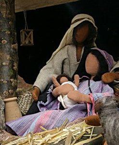 Biblische Figuren - Geburt Jesu