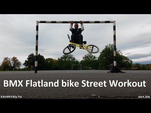 dxnproducts.com: Hanging leg raises and pull ups: BMX Flatland bike...