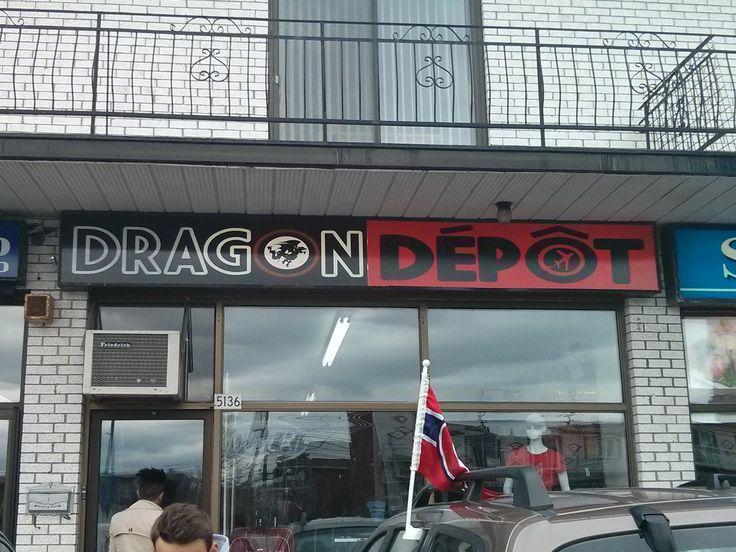 Dragon Dépôt - Impression et vente de tee shirt, chandails , casquettes, polos personnalisés. Articles de promotions, cartes d'affaire, affiches pub, boite à lunch. Vente de bagagerie
