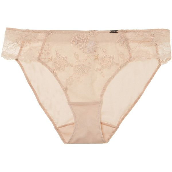 Chantelle Women's Elasticized Bikini Bottom - Light/Pastel Brown, Size... (€15) ❤ liked on Polyvore featuring swimwear, bikinis, bikini bottoms, chantelle bikini, brown bikini, chantelle swimwear, chantelle and bottom bikini