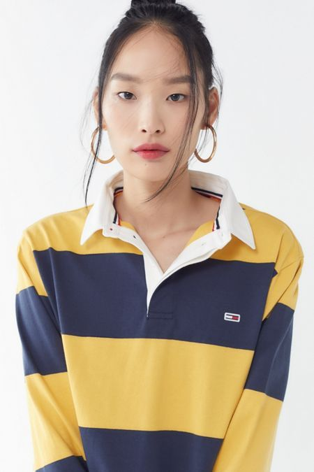 49380923798631 Tommy Jeans Classic Rugby Shirt