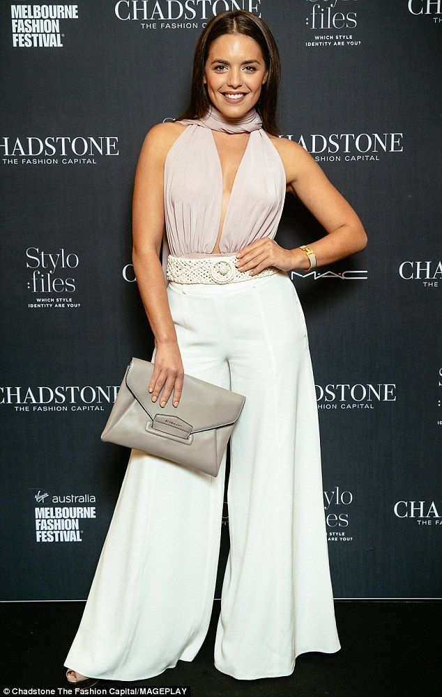 Style star! Olympia Valance sizzled at Chadstone¿s AW16 runway show at Virgin Australia Me...
