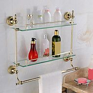 Gold-Plated+Brass+Material+Bathroom+Shelves+–+USD+$+74.99