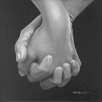 """""""Când două mâini se sprijină reciproc, n-au cum să-şi dea drumul din încleştarea lor pentru că una reprezintă prelungirea celeilalte. Şi apoi, nici trupurile acelor mâini n-au cum să se rătăcească, nici sufletele acelor trupuri, nici gândurile lor, nici visele lor. Ele rămân împreună, pentru că doar aşa se simt în lumea lor, în întregul lor....Întreg ce nu se poate sfărâma nici când se va realiza trecerea către alte lumi..."""""""