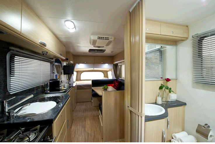 Enjoy the privacy of your own bathroom complete with separate shower, Toilet and vanity   #campingmadeeasy