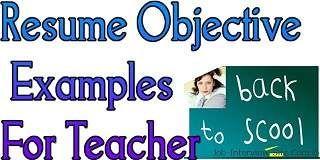 Resume Objectives For Teachers Prepossessing 58 Best Career Images On Pinterest  Resume Maker Professional .