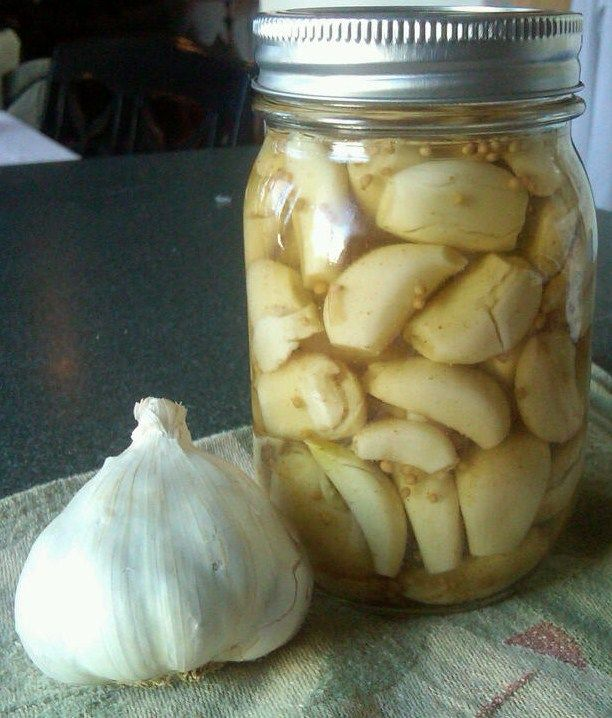 After opening another jar of garlic I pickled now some time ago I found that the flavor was amazing and that even right out of the jar it wa...