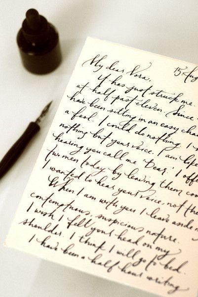 Best handwritten letters ideas on pinterest snail