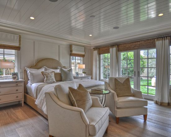 Idea for continuing screened porch window look into our bedroom; wall w/ double windows would be our south wall