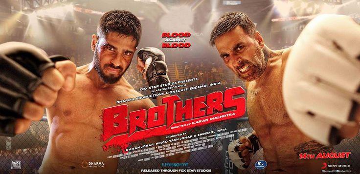 Akshay Kumar and Sidharth Malhotra starring Brothers movie has crossed the 6 Million mark on Youtube Trailer. Click here for more info=> http://s.cine27.com/Brothers_wiki #BrothersAug14 #Brothers #CineMagazineDigital #akshayKumar #SidharthMalhotra #JacquelineFernandez #JackieShroff