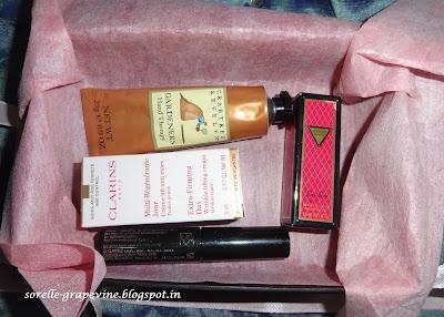 The Vellvette Box - My first box! ~ Sorelle Grapevine