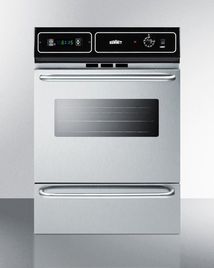 """24"""" Stainless Steel Electric Single Wall Oven"""