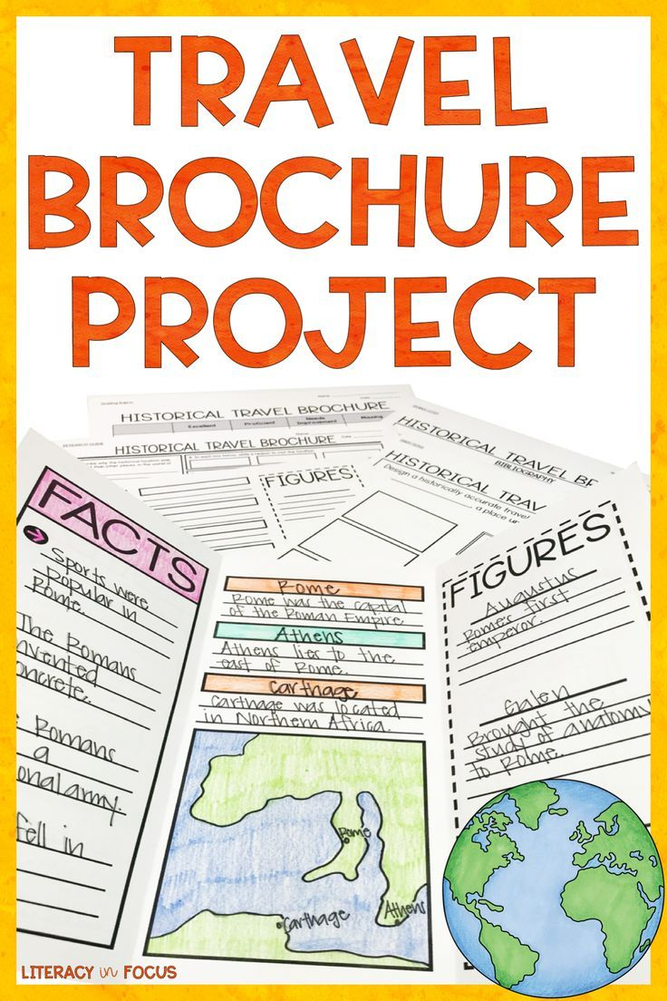Travel Brochure Template And Research Project Travel Brochure