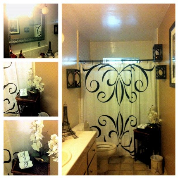 My Newly Updated Paris Bathroom ♥