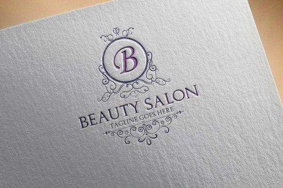 Beauty Salon Logo by Samedia Co. on Creative Market