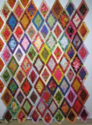 Great color placement in this quilt.