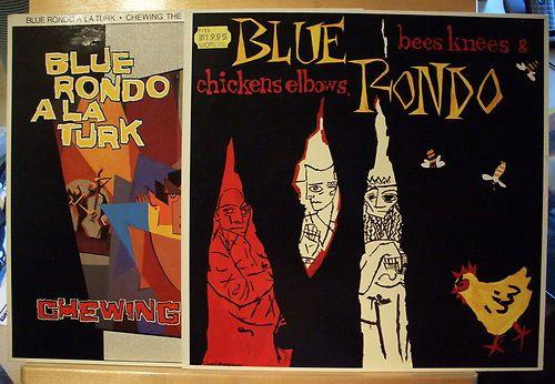 BLUE RONDO A LA TURK - 2xLP - Chewing the Fat + Bee Knees & C. - near mint - nm