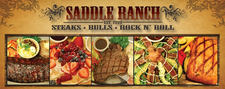 Saddle Ranch Chop House.com
