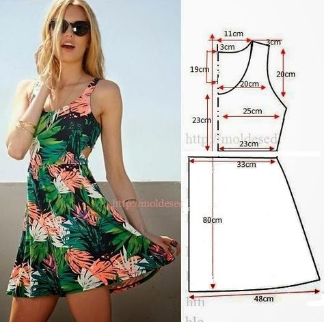 This is the same shape as the Hot Topic skater dresses.