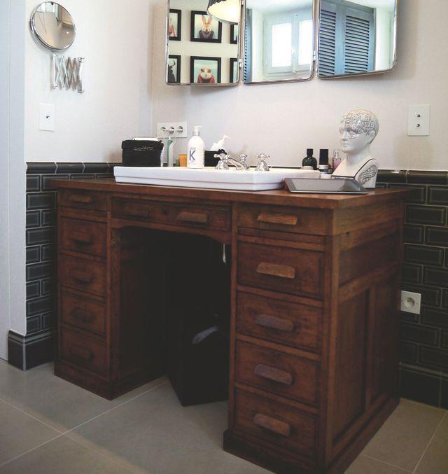Les 25 meilleures id es de la cat gorie salle de bains - Meuble salle de bain turquoise ...