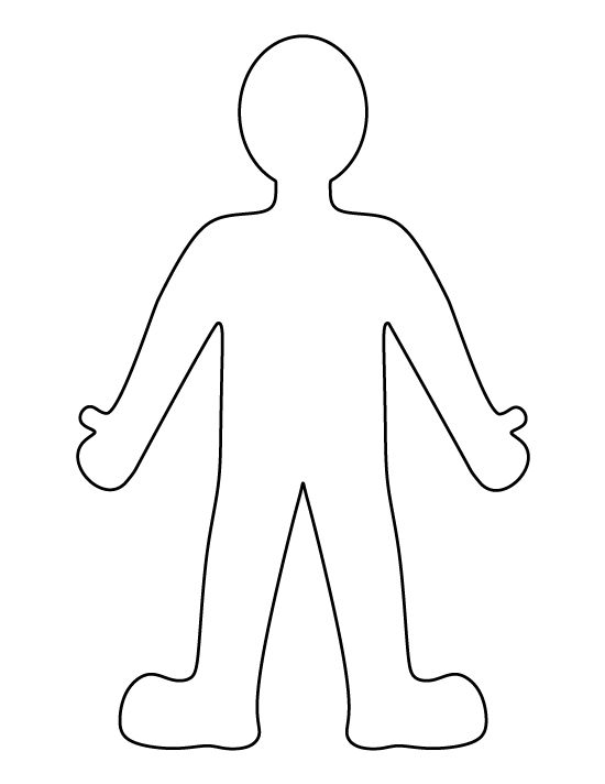 Person pattern Use the printable