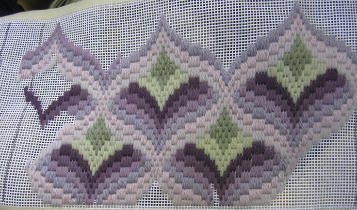 bargello embroidery patterns - Поиск в Google