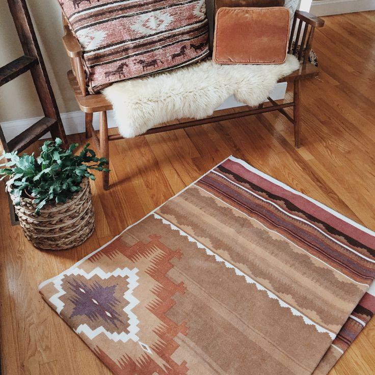 Southwestern blanket   vintage and swoon