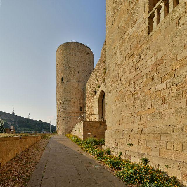 Castle of Salemi, Sicily, Italy