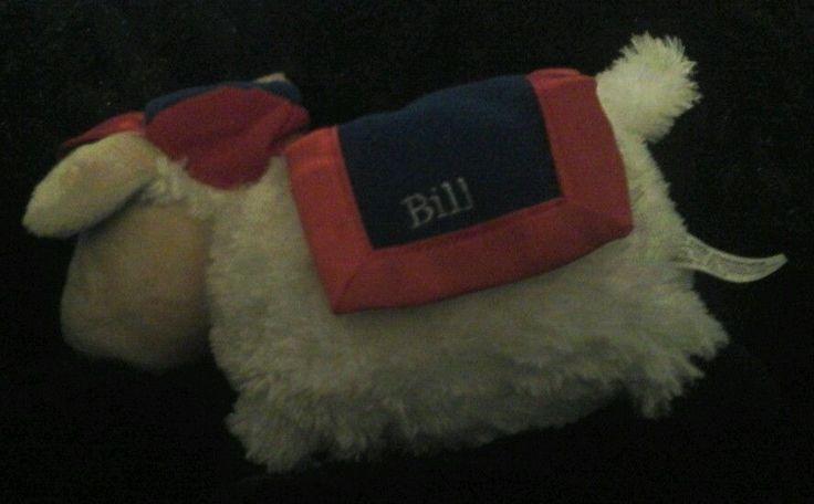 Sleepy Sheep Company # 42 BILL White PLUSH SHEEP Presidential  Sheep Bill Clinto #SleepySheepCompany