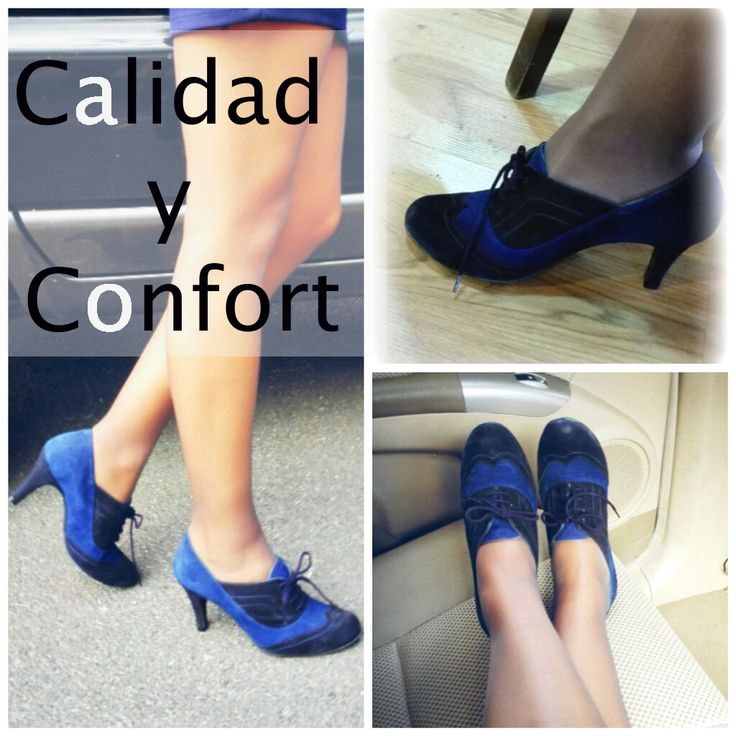 Orquídea #zapatoselda 2014. #Zapato #Blucher con mucho #confort.  Zapatoselda.com