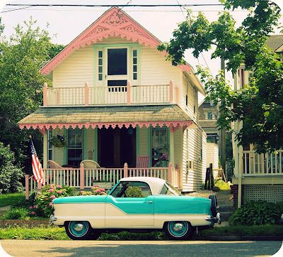 Dream house and dream car