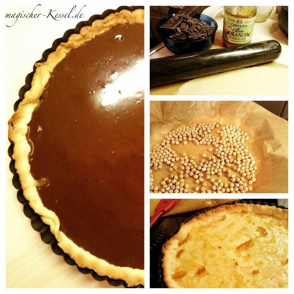 Französischer Schokoladenkuchen: Tarte au Chocolat