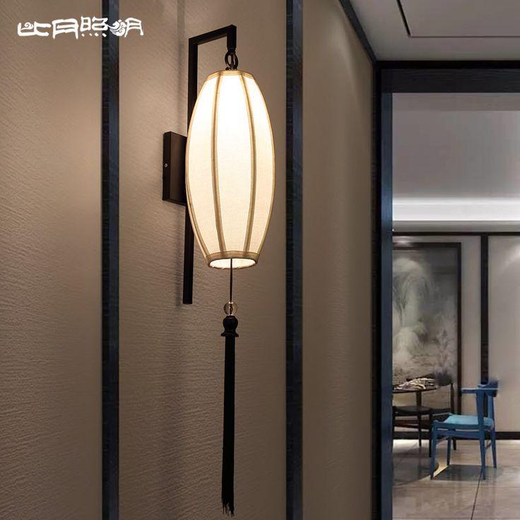 Goedkope Dan de nieuwe Chinese ijzeren muur slaapkamer studie creatieve gang…